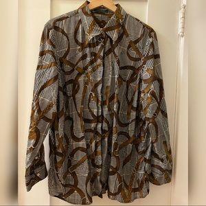 Authentic RALPH LAUREN vintage equestrian blouse